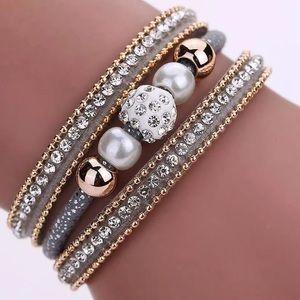 NEW Multi later bangle magnetic bracelet